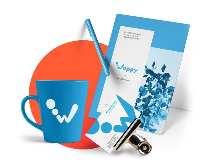 Branding identidad Visual Woppy