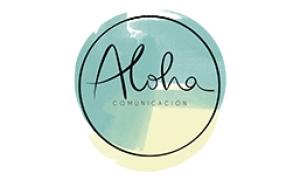 Logo Aloha Comunicación