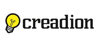 Logotipo Creadion diseño web