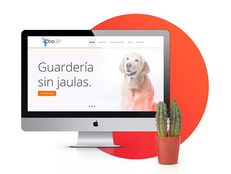 Diseño página web Centro de Bienestar Animal